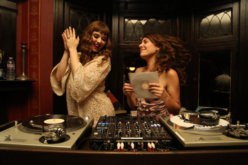 All Girls All Vinyl night - Victoria Rawlins and Nina Tarr