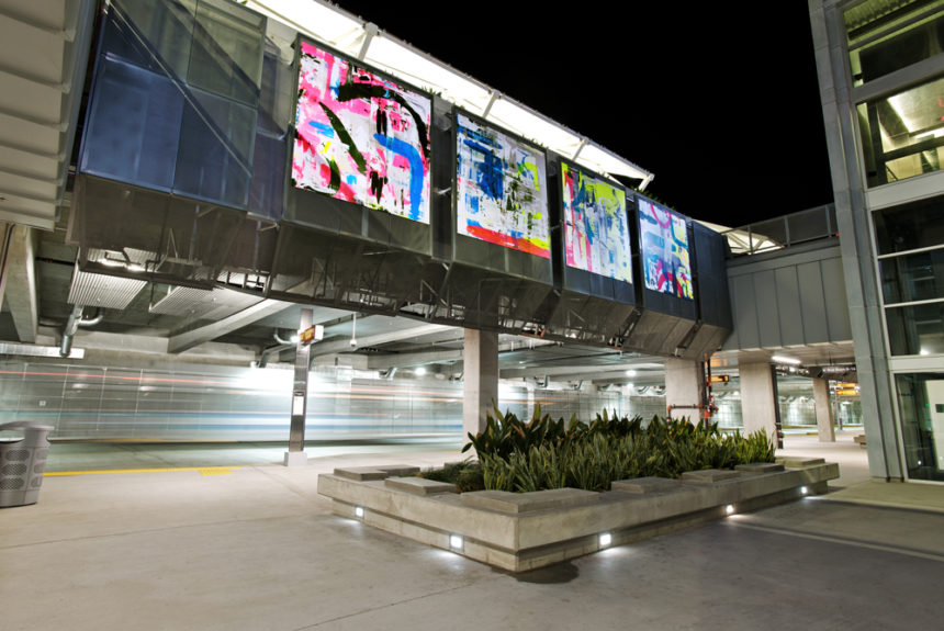 El Monte Station in Los Angeles - Martin Durazo