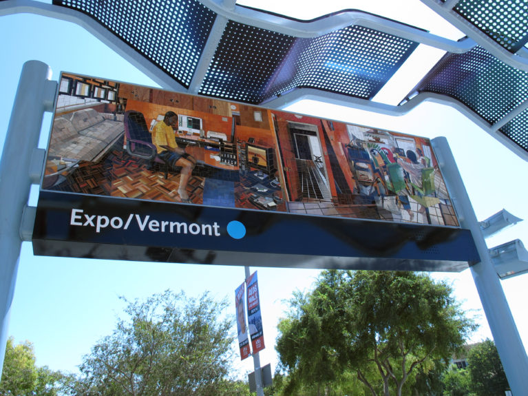Vermont Station Expo in Los Angeles - Jessica McCoy