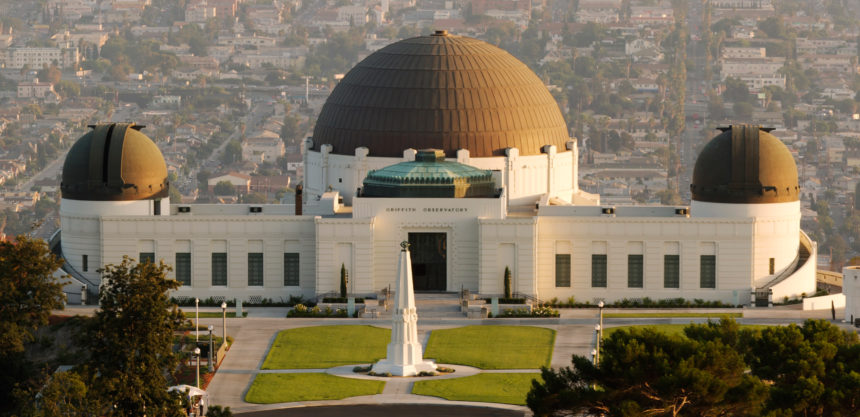 Los Angeles Griffith Observatory Exterior