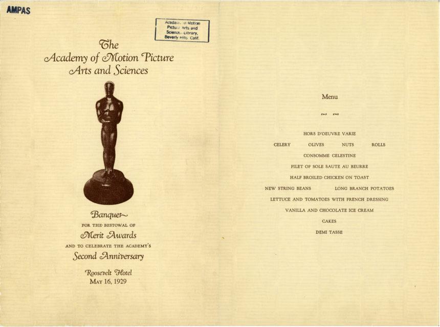 oscars-menu-1929