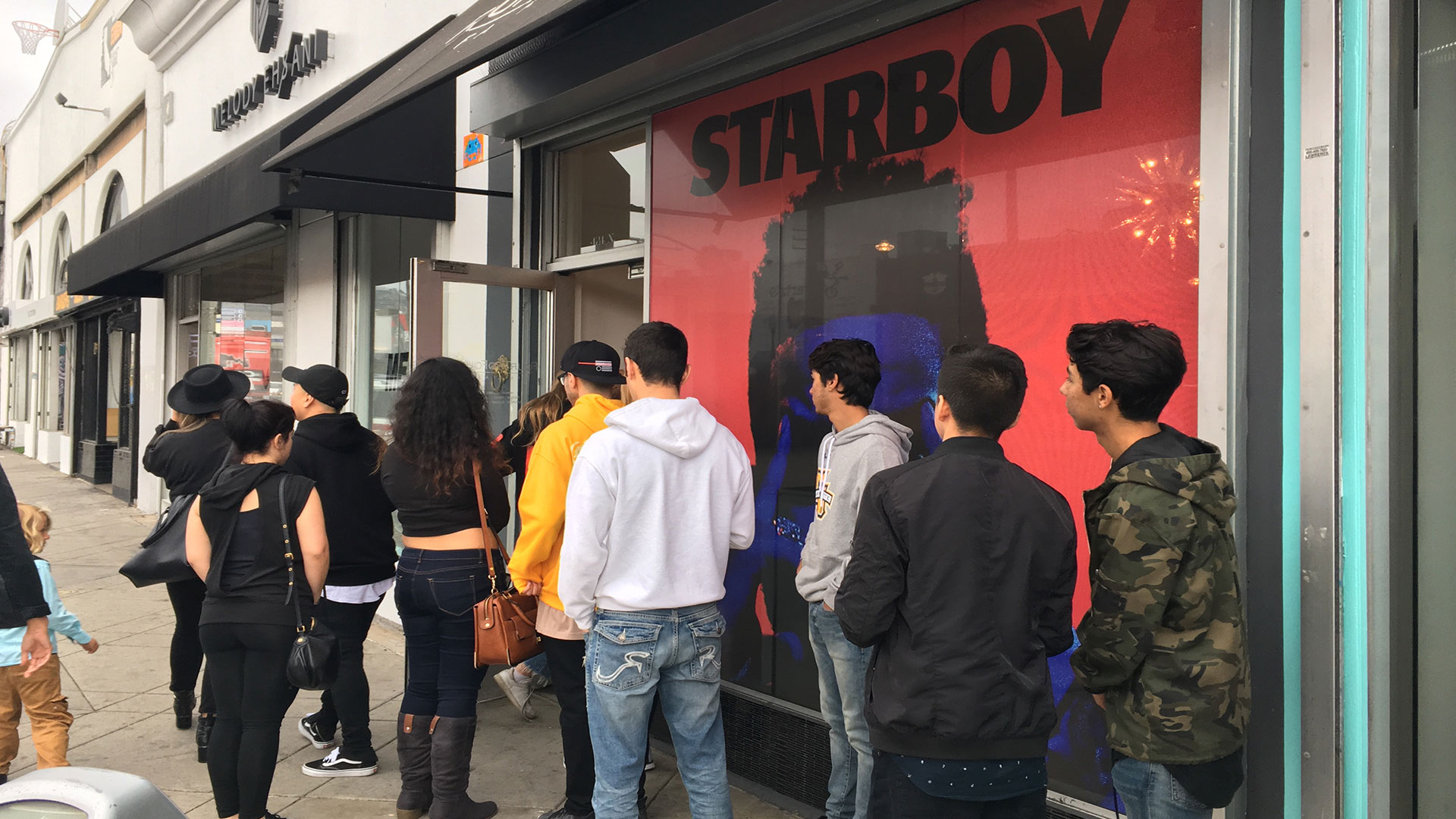 Pop Ups on Fairfax in Hollywood, CA