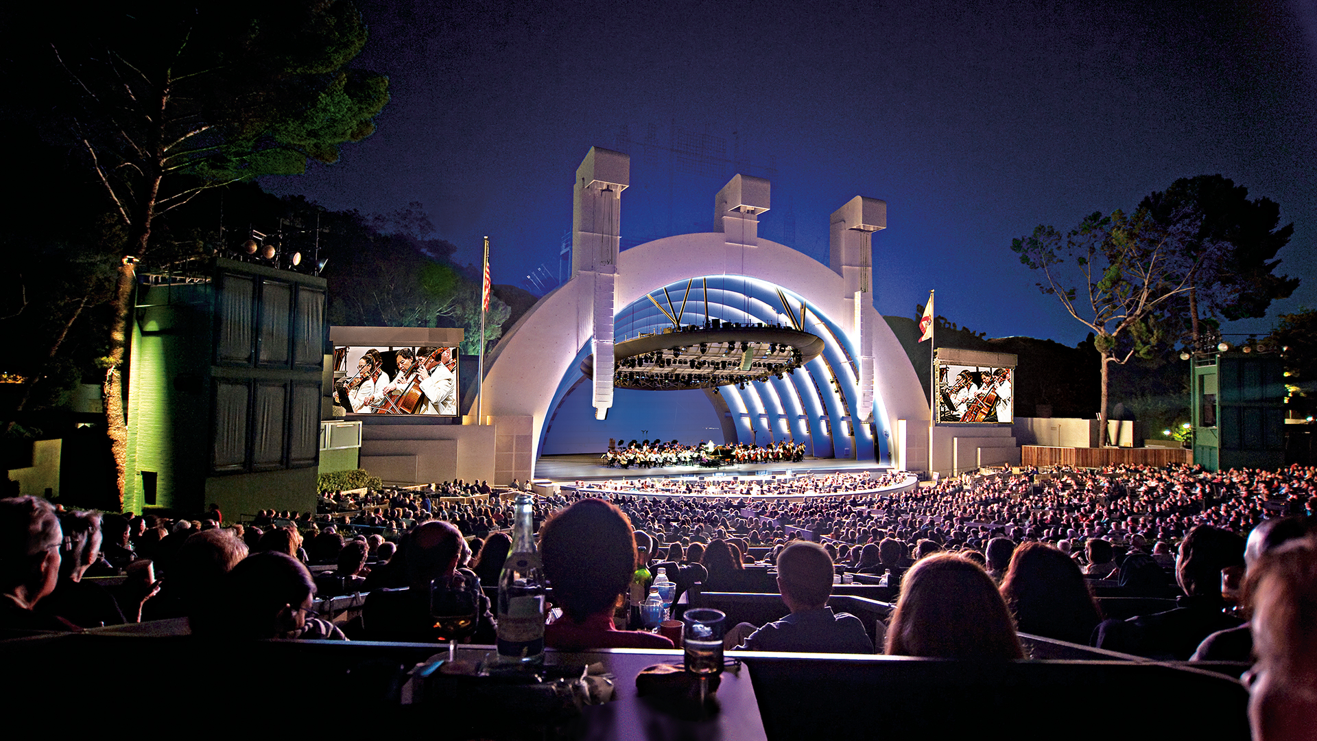 Summer performances at the Hollywood Bowl