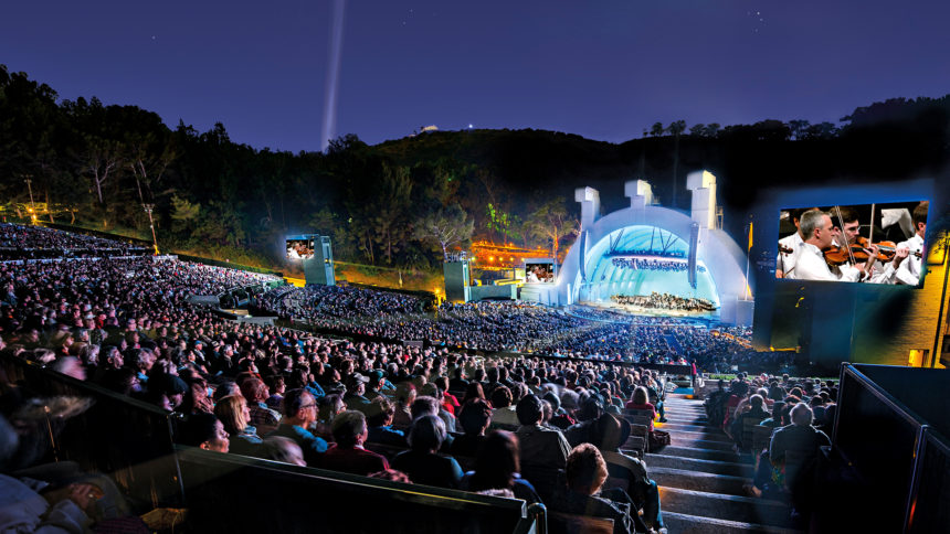 Hollywood Bowl summer night