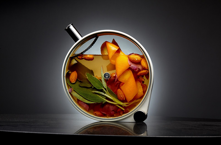 The Porthole Cocktail at The Aviary Cocktail Bar in Chicago