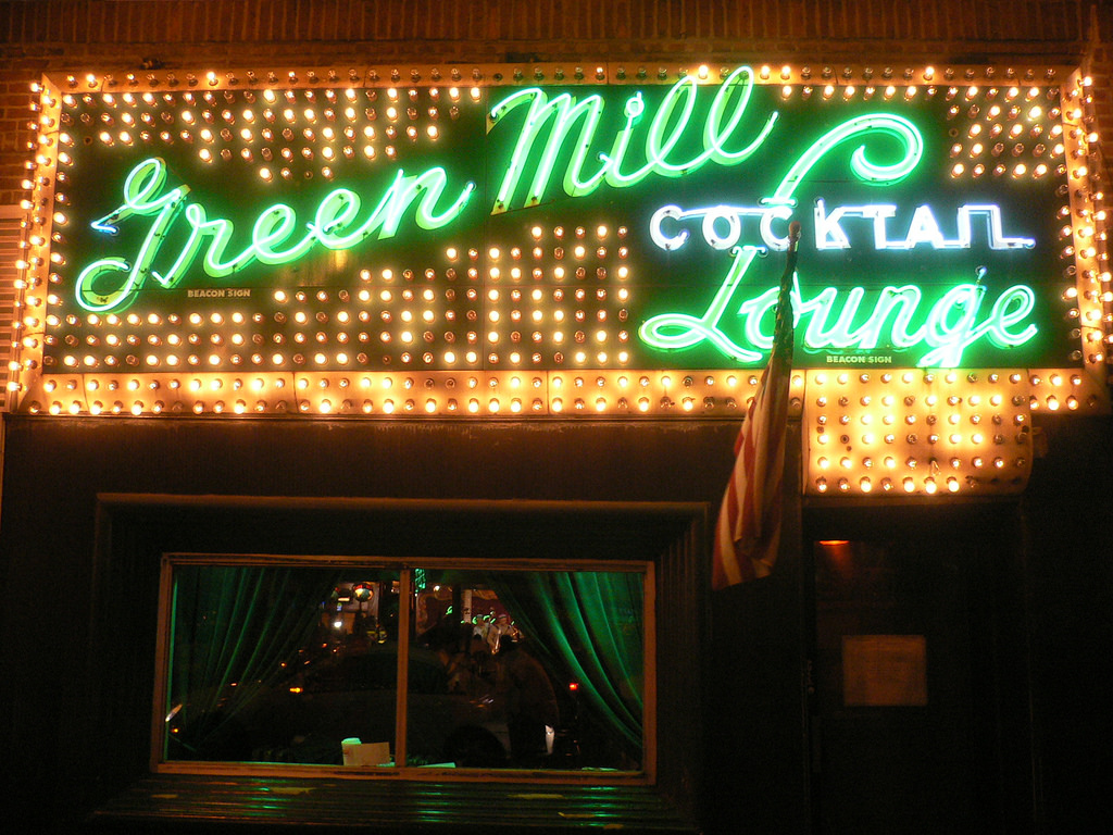 Chicago's Green Mill Cocktail Lounge