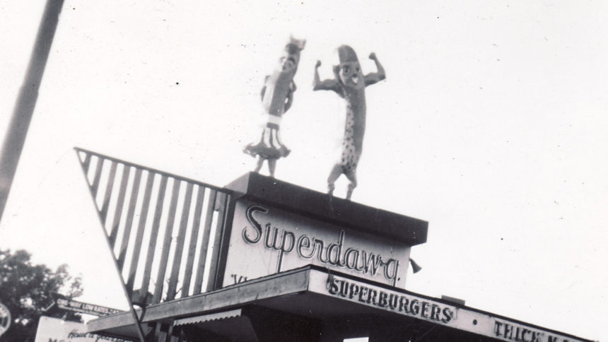 Superdawg classic Chicago restaurant
