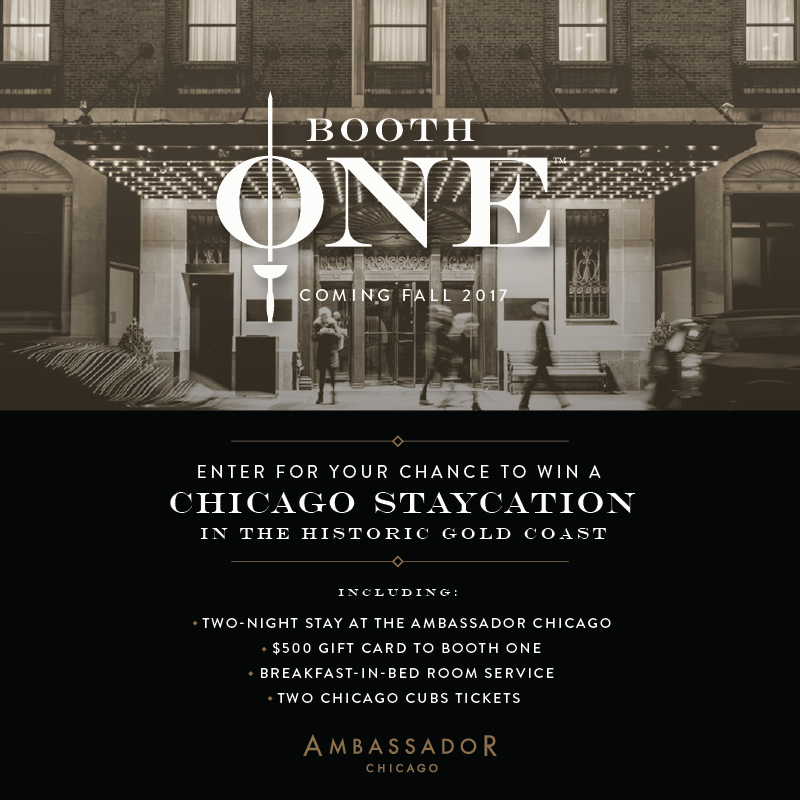 booth one to open at ambassador chicago this fall journal hotels