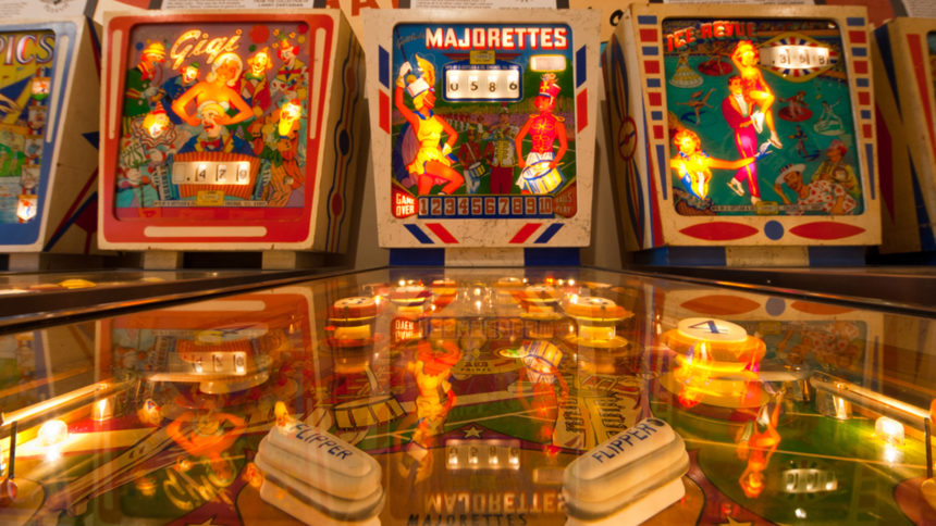 The Pinball Museum in Banning, CA