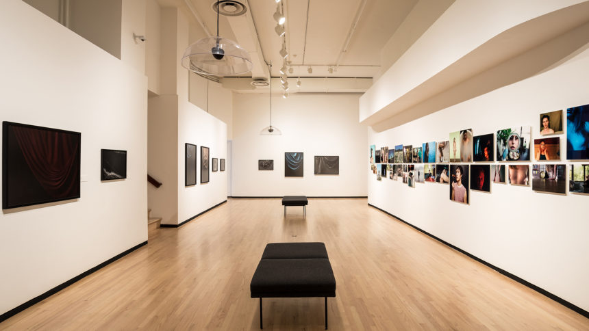 An exhibit at The Museum of Contemporary Photography