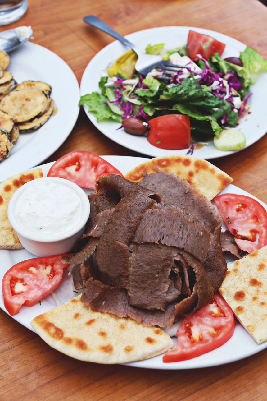 Gyros at Athena in Chicago