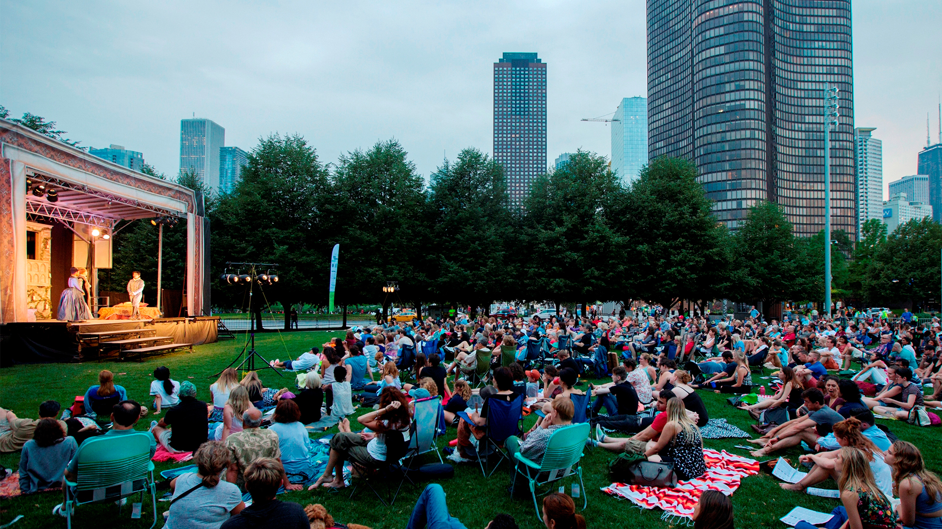 Summer theater in Chicago