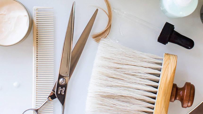 Brush hair salon in Palm Springs