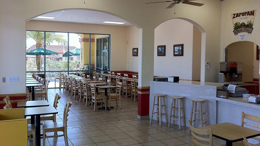 Zapopan Mexican restaurant in Desert Hot Springs, California.