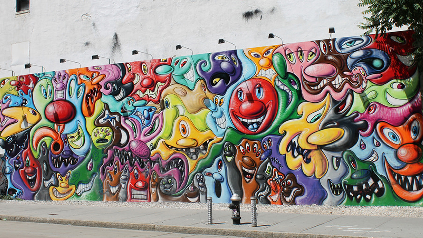 Bowery Mural in New York City
