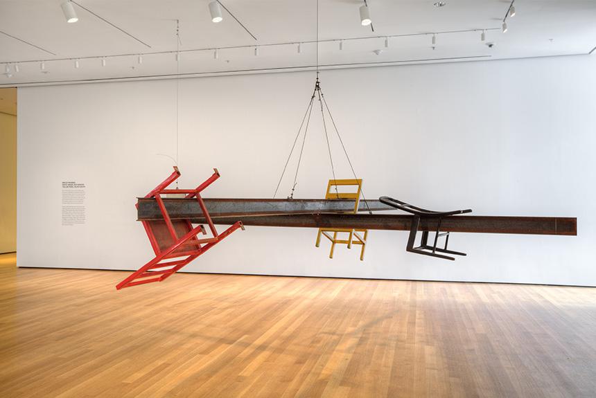 Bruce Nauman exhibit at Museum of Modern Art in New York City