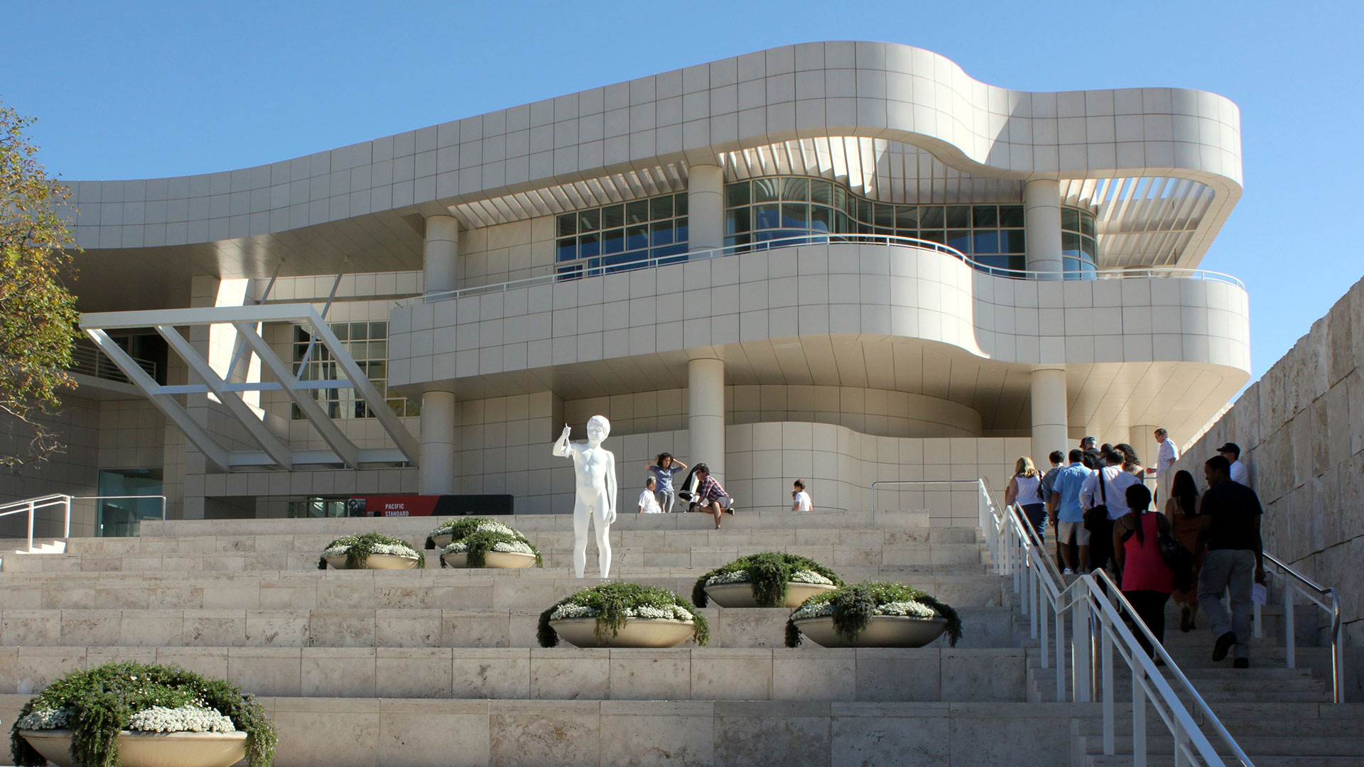 Getty Museum in Los Angeles.