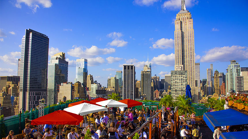 Best Rooftop Bars NYC for Summer - Journal Hotels