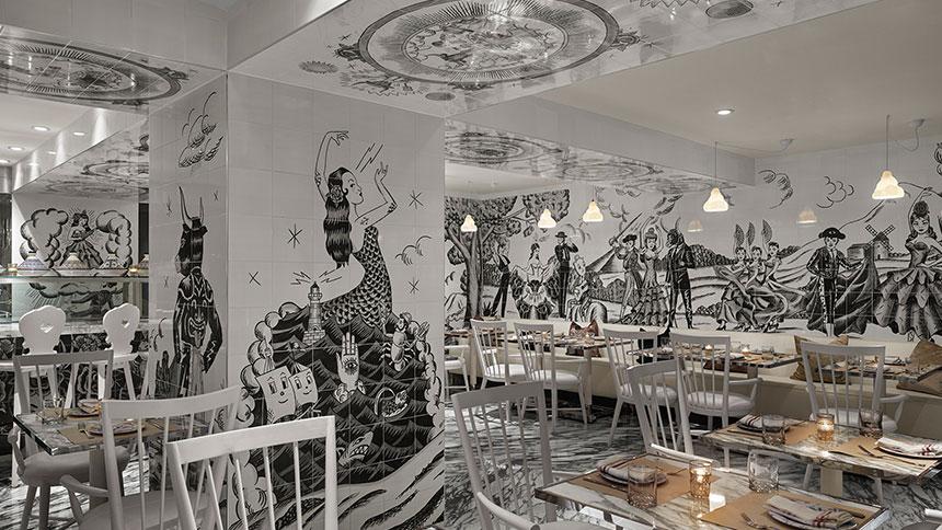 Cleo Restaurant Mondrian