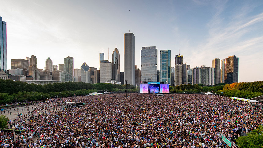 Lollapalooza Chicago Skyline Stage