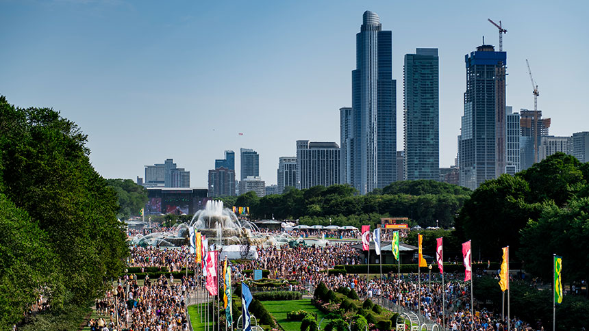 Lollapalooza Chicago Stage