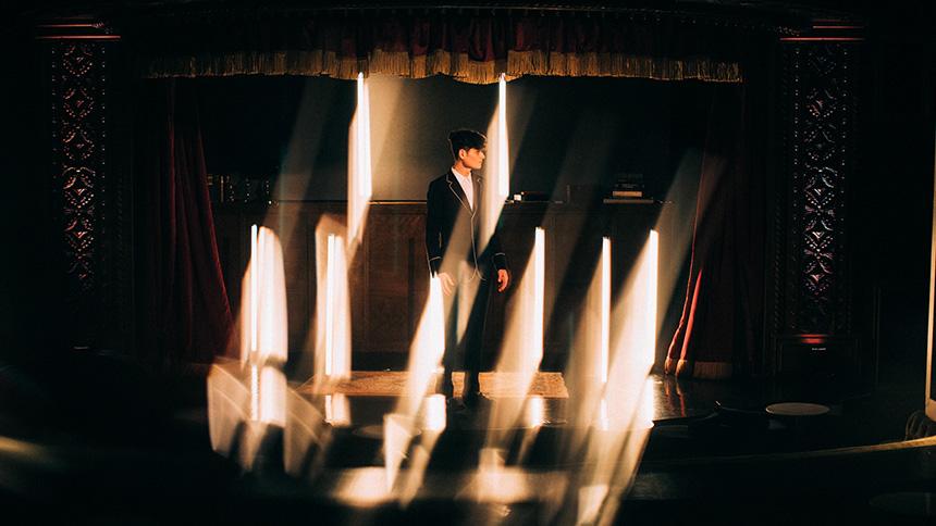 Franco Pascali on stage