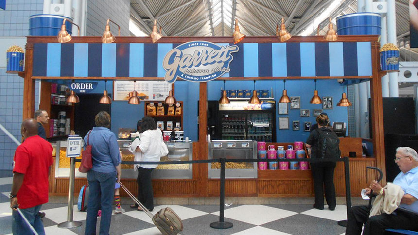 Garrett Popcorn in Chicago, Illinois