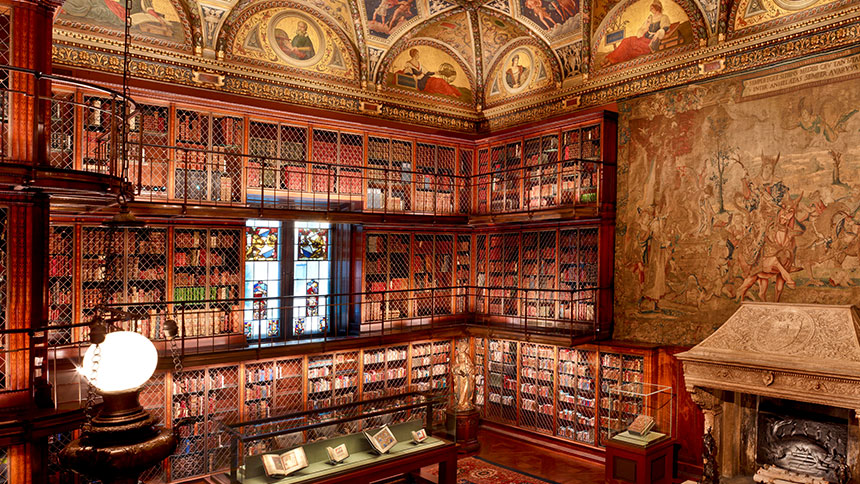JP Morgan Library in New York City